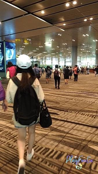 新馬自由行-新加坡樟宜機場