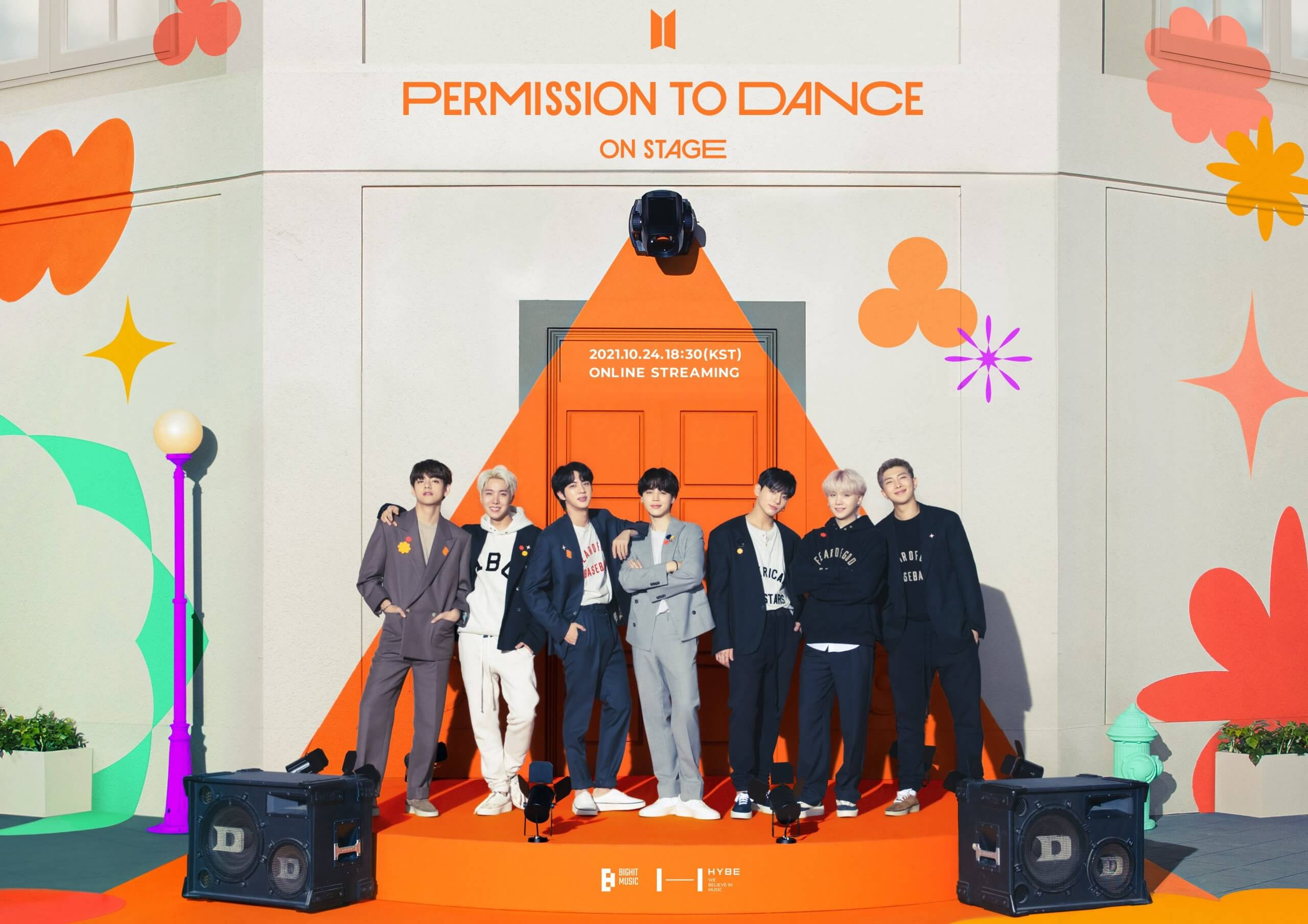BTS PERMISSION TO DANCE ON STAGE